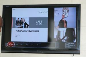 VU videoconferencing
