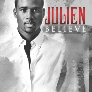 "Julien's hit single ""Believe"" available on iTunes"
